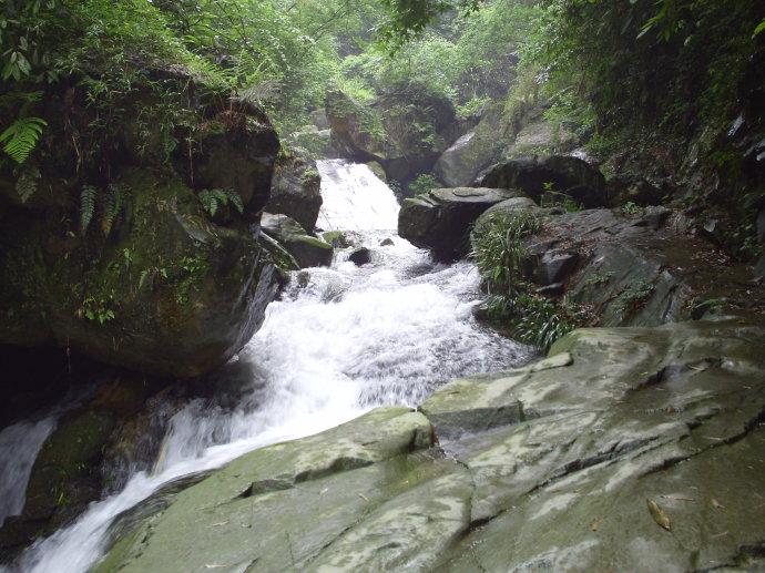 桃江罗溪瀑布